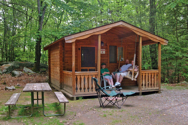 Family Camping Cabins Floor Plan And Designs